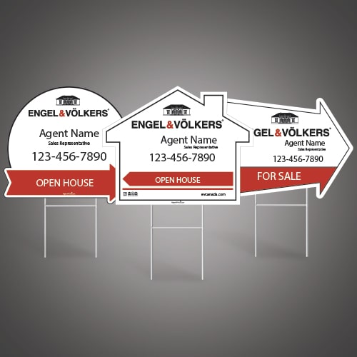 Directional Signs (Shaped) - ENGEL & VOLKERS