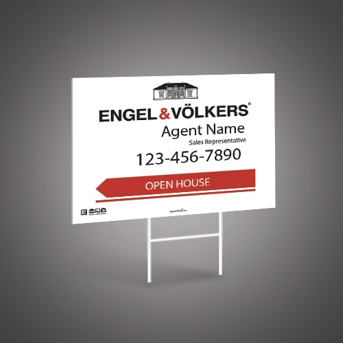 Directional Signs (10mm) - ENGEL & VOLKERS