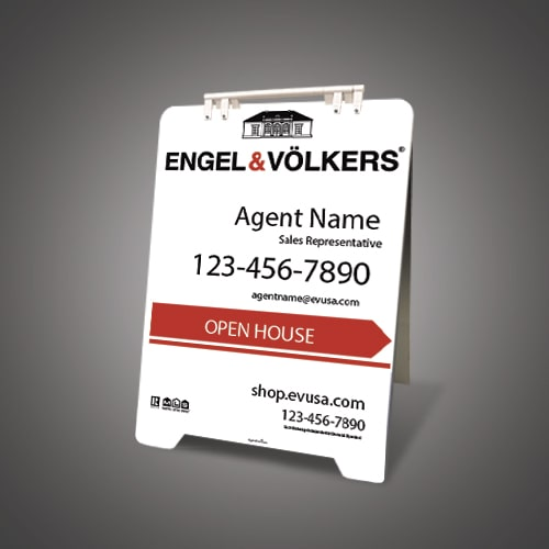 Sandwich Boards (With Feet) - ENGEL & VOLKERS
