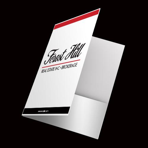 Presentation Folders<br><br> - Forest Hill
