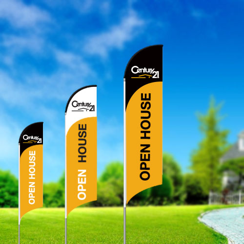 Feather Flags<br><br> - Century 21