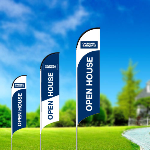 Feather Flags<br><br> - Coldwell Banker