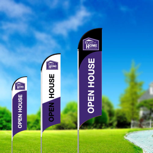 Feather Flags<br><br> - Right At Home