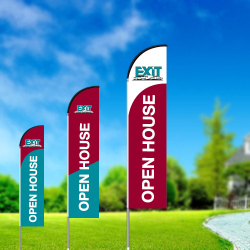 Straight Flags<br><br> - Exit Realty