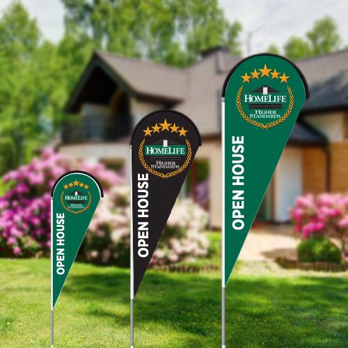 Teardrop Flags<br><br> - Homelife