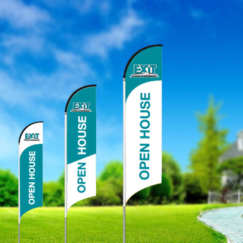 Feather Flags<br><br> - Exit Realty