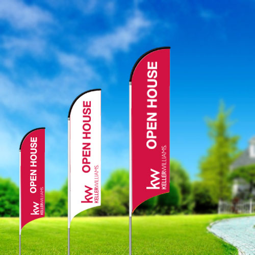 Feather Flags<br><br> - Keller Williams