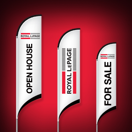 Feather Flags<br><br> - Royal LePage