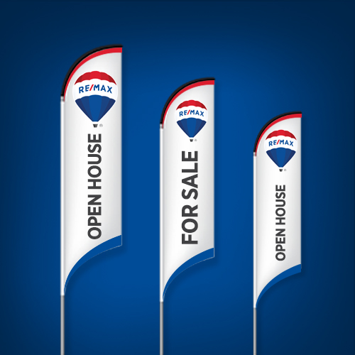 Feather Flags (Concave Bottom)<br><br> - RE/MAX
