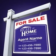 For Sale Signs - Right at Home