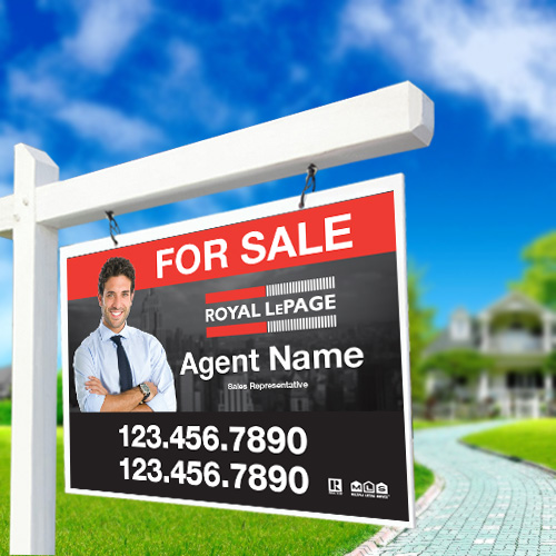 For Sale Signs<br><br> - Royal LePage