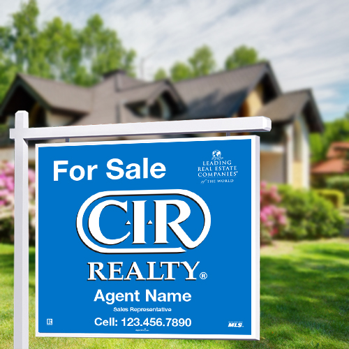 For Sale Signs<br><br> - CIR Realty