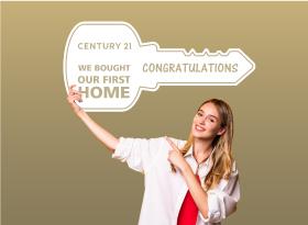 Century 21</br>Closing Key Signs