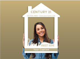 Century 21</br>House Photo Booth Frames