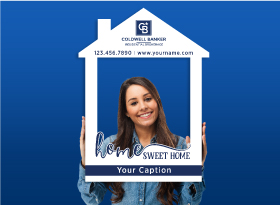 Coldwell Banker</br>House Photo Booth Frames