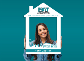 EXIT Realty</br>House Photo Booth Frames