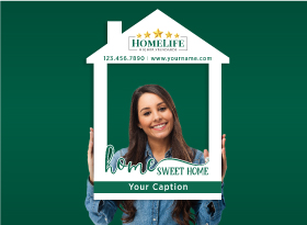 Homelife</br>House Photo Booth Frames