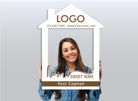 Independent Realtor</br>House Photo Booth Frames