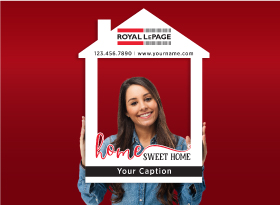 Royal LePage</br>House Photo Booth Frames