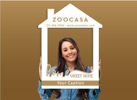 Zoocasa</br>House Photo Booth Frames
