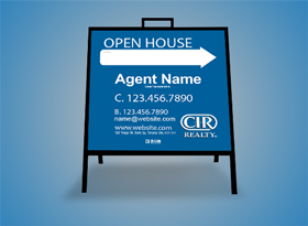 Insert Signs - CIR Realty