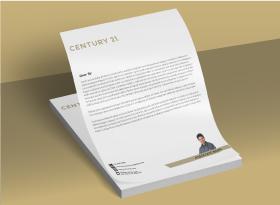 Letterheads - Century 21