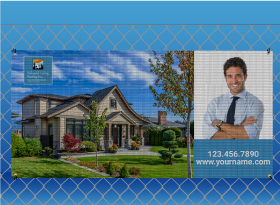 Relaxed Living Realty Inc.</br> Mesh Banners