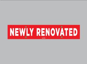 NEWLY RENOVATED