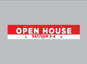 OPEN HOUSE </br>SAT/SUN 2 - 4