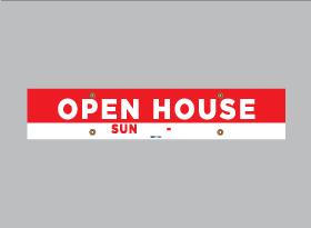 OPEN HOUSE SUN </br> (Flexible Time)