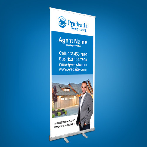 Roll-Up Banners<br><br> - Prudential