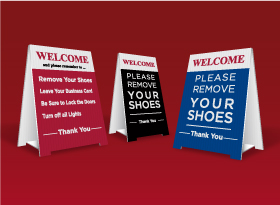 Table Top Signs - Forest Hill