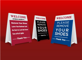 Table Top Signs - Realty World