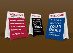 Table Top Signs - Independent Realtor