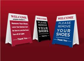 Table Top Signs - Sutton