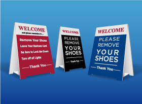 Table Top Signs - Relaxed Living Realty Inc.