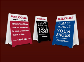Table Top Signs - JDL
