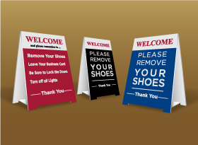 Table Top Signs - iPro Realty