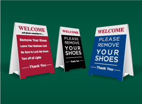 Table Top Signs - HomeLife