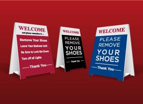 Table Top Signs - Kingsway