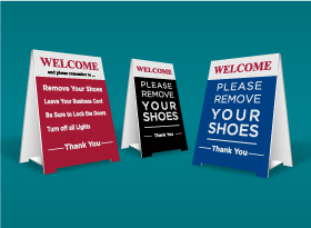 Table Top Signs - Exit Realty