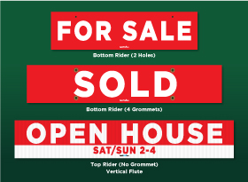 Pre-made Riders - Harvey Kalles Real Estate
