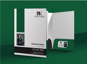Presentation Folders - Harvey Kalles Real Estate