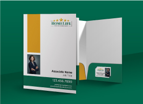 Presentation Folders - Homelife