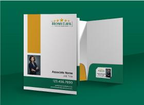 Presentation Folders - Homelife