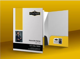 Presentation Folders - Main Street Realty