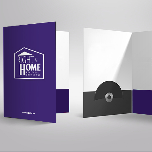 Presentation Folders<br><br> - Right At Home