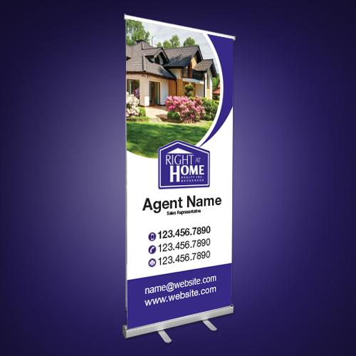 Roll-Up Banners<br><br> - Right at Home
