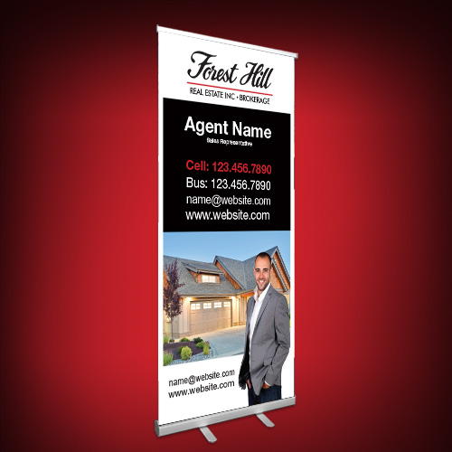 Roll-Up Banners<br><br> - Forest Hill