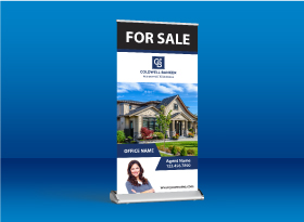 Roll-Up Banners - Coldwell Banker